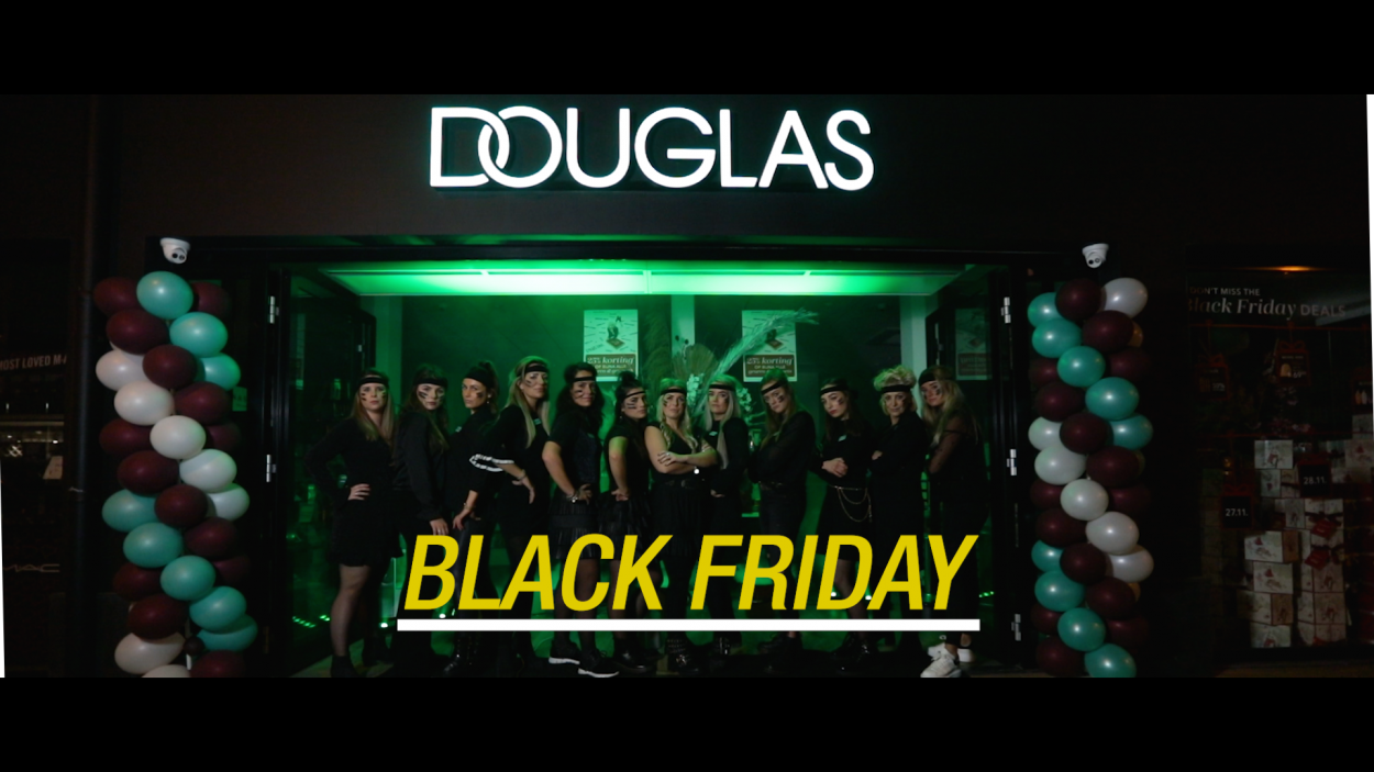 Douglas Katwijk – Black Friday Commercial